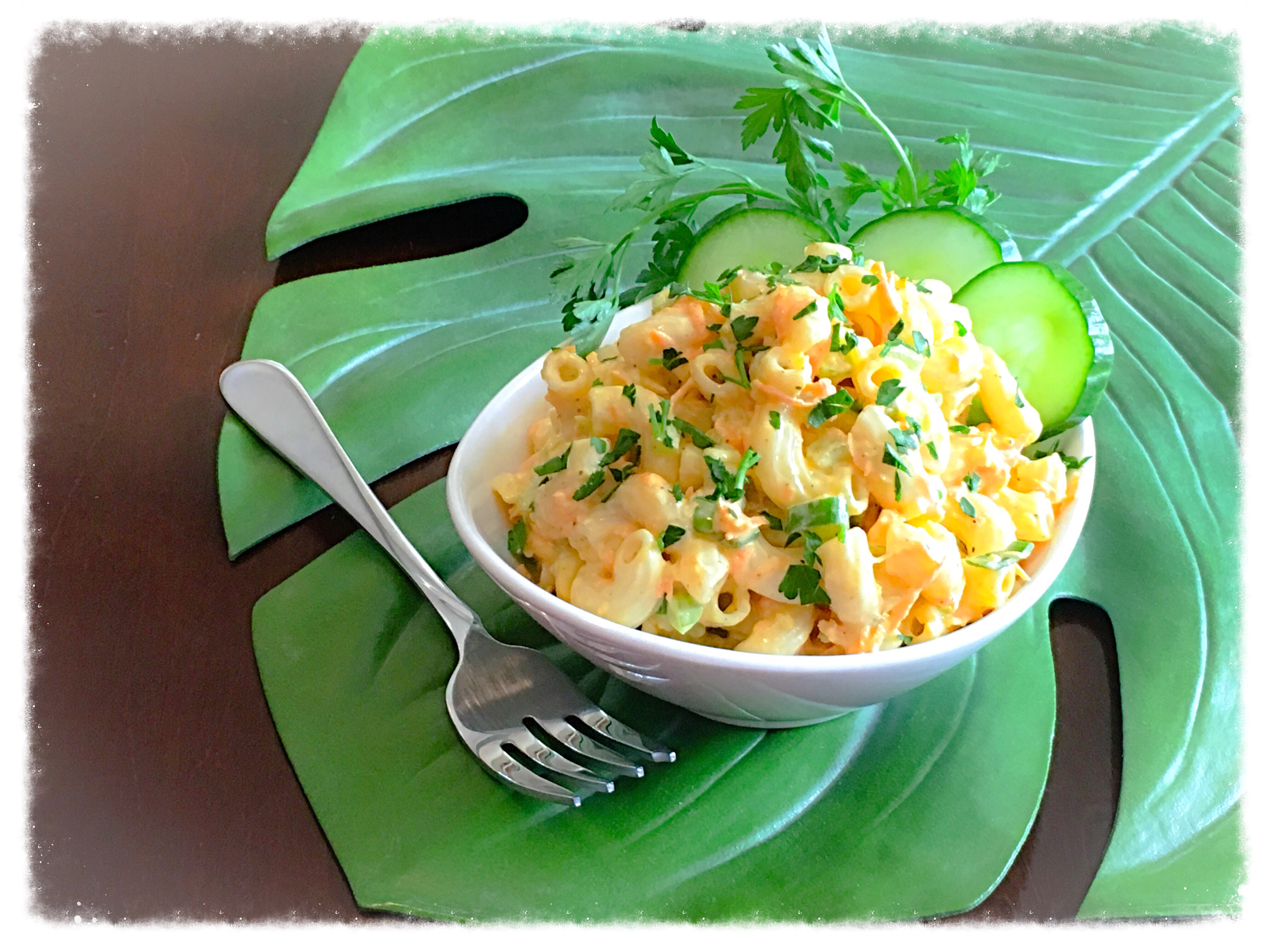 Hawaiian Macaroni Salad Recipe Aloha Kitchen Copycat